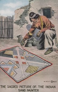 The Sacred Picture of the Indian , Sand Painter , 00-10s