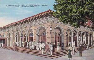 Florida Saint Petersburg Outdoor Post Office