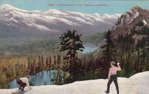California Mount Wilson Snowballing At Mount Wilson
