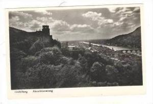 RP, Abendstimmung, Heidelberg (Baden-Württemberg), Germany, 1920-40s