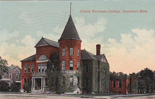 Cleary Business College, YPSILANTI, Michigan, PU-1921