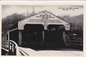 The Old Covered Bridge, Philippi, West Virginia, 1920-40s