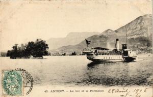 CPA Annecy Le lac et le Parmelan (618837)