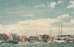 The Wharf , Bridgetown , Barbados , B.W.I. , 40-60s
