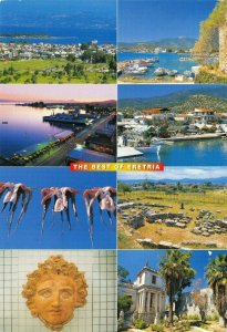 Greece Multi View Postcard, The Best of Eretria FJ0