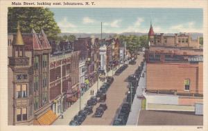 JOHNSTOWN, New York; Main Street looking east, 30-40s