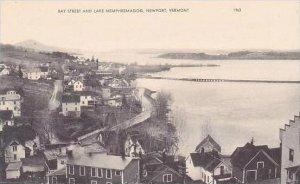 Vermont Newport Bay Street and Lake Memphremagog Artvue
