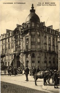 CPA AK LE MONT-DORE - Hotel Sarciron-Raynaldy (72593)