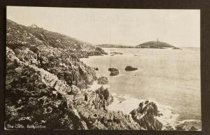 Mint Vintage Ireland The Cliffs Ballycotton County Cork Real Picture Postcard