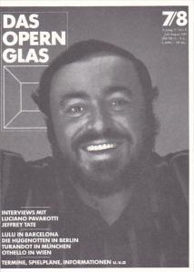 Luciano Paverotti In Hamburg Das Opern Glas
