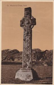 SCOTLAND, 1900-1910's; St. Martin's Cross, Iona