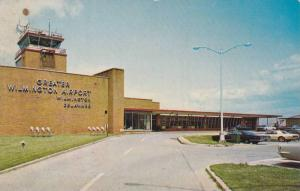Exterior View of Terminal Building at Greater Wilmington Airport, Wilmington,...