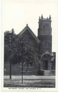 Exterior, Methodist Church, Red Springs, North Carolina, 20-40s