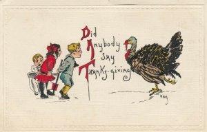 HBG ; Thanksgiving , 1900-10s; Did Anybody Say Thanksgiving