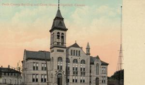 STRATFORD , Ontario, 1900-10s ; Court House