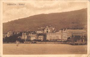 Croatia, Opatija Abbazia - Slatina Beach 1923