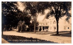 Massachusetts  Williamsburg , Congregational Church ,  RPC