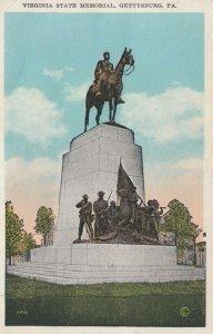 GETTYSBURG, Pennsylvania, 1910s; Virginia State Memorial