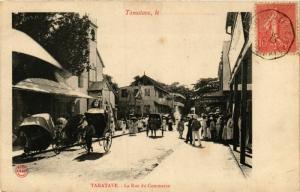 CPA TAMATAVE La Rue du Commerce MADAGASCAR (709652)