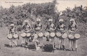 Tom Tom Beaters, Ceylon (Sri Lanka), Asia, 1900-1910s