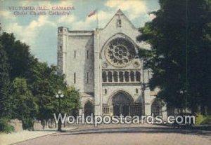 Christ Church Cathedral Victoria British Columbia, Canada Unused
