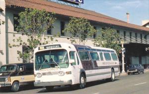 General Motors TDH 5302 Mexicoach Bus #25 In Front Of Santa Fe Depot San Dieg...