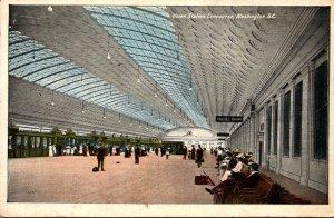 Washington D C Union Station Concourse 1922