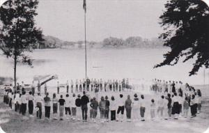 Michigan Paw Paw Honor The Flag Ceremony Van Buren County Youth Camp Dexter P...