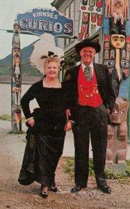SKAGWAY , Alaska , 1950-60s ; Mr & Mrs John Kirmse