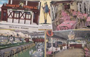 4-Views, Schwaben - Hof, Wir Schwoba, MILWAUKEE, Wisconsin, PU-1942
