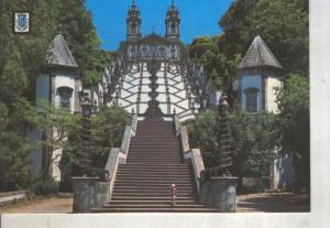 Postal 014154: Escalera del templo de Bon Jesus en Braga, Portugal