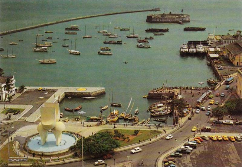 BRASIL, Visconde de Cayru Square, Salvador de Bahia, 50-70s