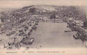 France Rouen Panorama pris du Transbordeur