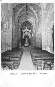 Israel  Jerusalem   Basilique Ste. Anne - Interieur     White Fathers  at St....