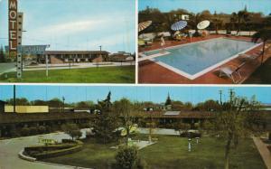 Swimming Pool, Murietta Motel, Highway 99, MERCED, California, 40-60´