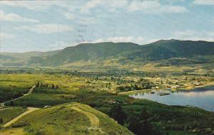 View of PENTICTON, British Columbia, Canada, 40-60´s