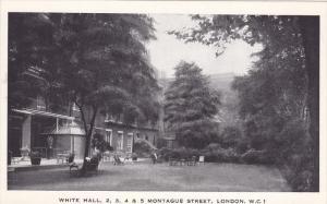 White Hall, 2, 3, 4, & 5 Montague Street, LONDON, England, UK, 1910-1920s