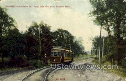 Proposed Interurban Bet.  Rose City MI 1910, Missing Stamp