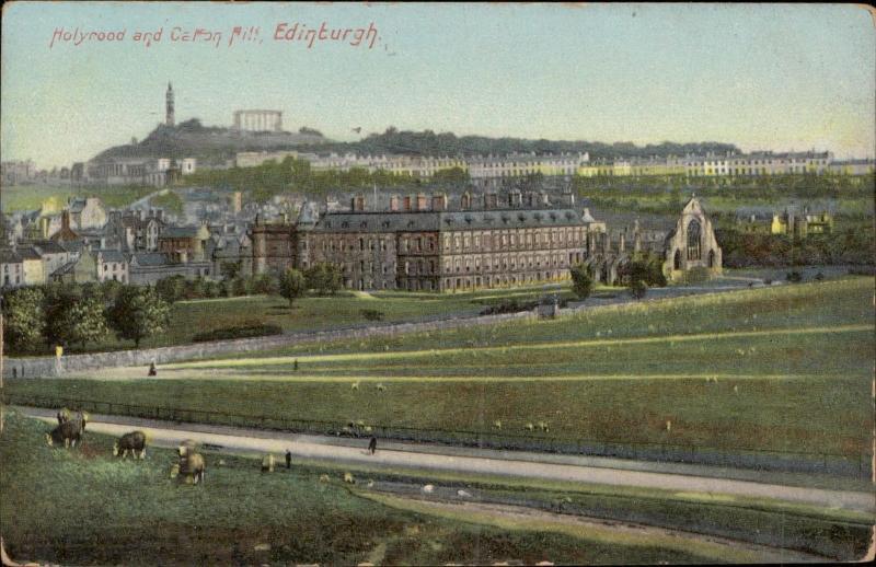 Edinburgh Holyrood and Calton Hill