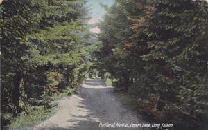 Lovers Lane, Long Island, Portland, Maine, 1900-1910s