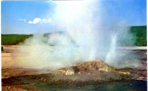 Haynes 51 SERIES #068, Jet Geyser, Yellowstone National Park