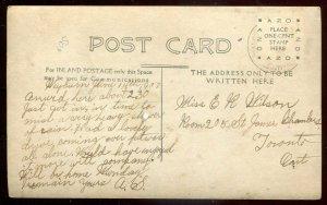 3550 - WEYBURN Saskatchewan 1907 M.E. Church. Real Photo Postcard by McMullen