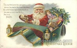 Santa Claus Christmas Postcard Postcards