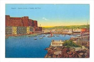 Napoli - Santa Lucia e Castel dell'Ovo , Italy, 00-10s
