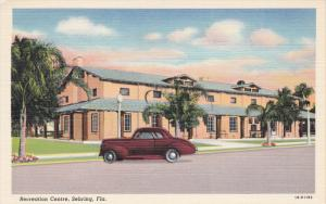 SEBRING, Florida, 1930-1940's; Recreation Centre, Classic Car