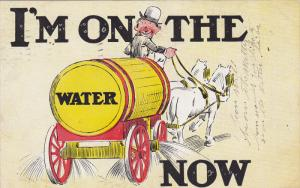 I´m on the water now, Horse-drawn barrel, Intoxicated driver, PU-1908