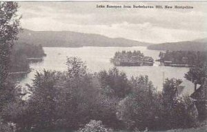 New Hampshire Lake Sunapee From Burkehaven Hill Albertype