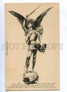 202523 Archangel Saint Michael by FREMIET Vintage postcard