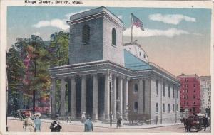 Kings Chapel Boston Massachusetts