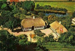 Denmark Bregninge Kirke Taasinge Skipperhjem Folkemindesamling Postcard